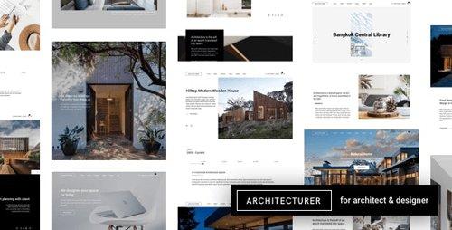 ThemeForest - Architecturer v3.1 - WordPress for Interior Designer - 22544684 -