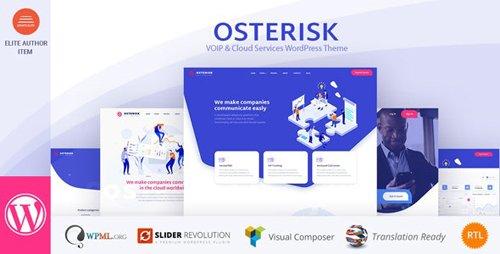 ThemeForest - Osterisk v2.0 - VOIP & Cloud Services WordPress Theme - 23077398