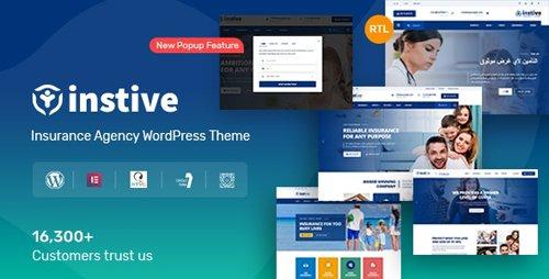 ThemeForest - Instive v1.1.1 - Insurance WordPress Theme - 24690633