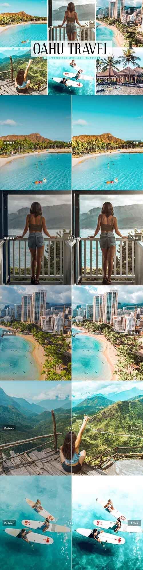 Oahu Travel Pro Lightroom Presets - 5387185 - Mobile & Desktop