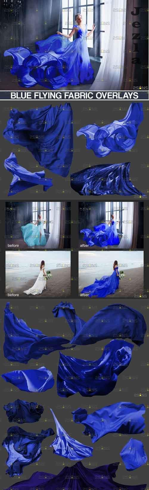 Flying Fabric overlays, Photoshop overlay Flying dress - 898227
