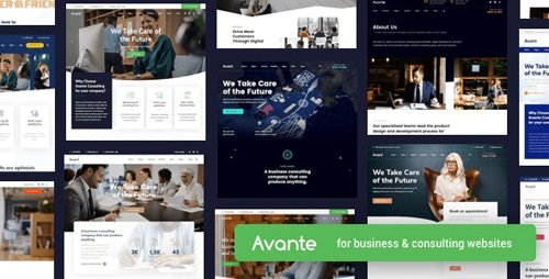 ThemeForest - Avante v1.8.3 - Business Consulting WordPress - 25223481 - NULLED