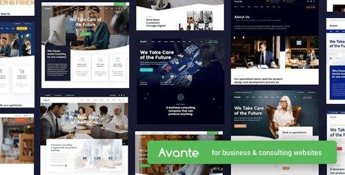 ThemeForest - Avante v1.8.3 - Business Consulting WordPress - 25223481 -