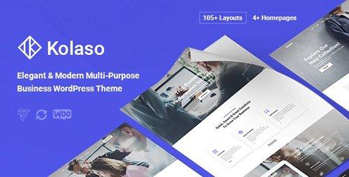 ThemeForest - Kolaso v1.3.0 - Modern Multi-Purpose WordPress Theme - 23321406