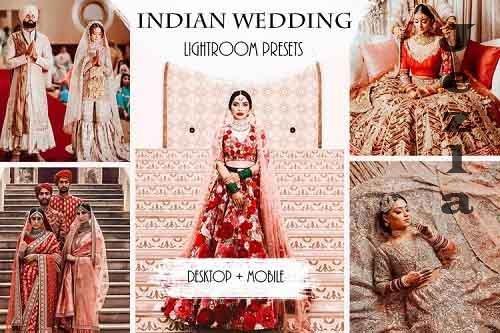 Indian Wedding Lightroom Presets   Mobile & Desktop - 897793