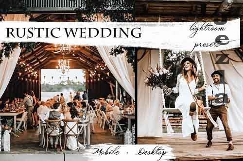 Rustic Wedding Lightroom Presets   Mobile & Desktop - 897819