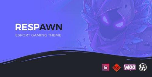 ThemeForest - Respawn v1.4 - Esports Gaming WordPress Theme - 23481085