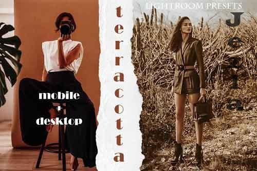 Terracotta Vibe Lightroom Presets | Desktop & Mobile - 897846