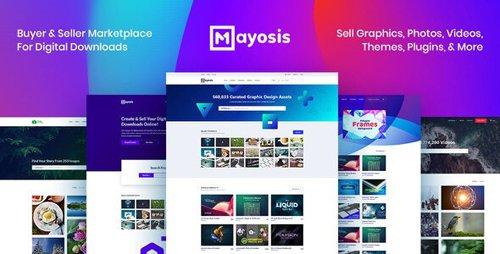ThemeForest - Mayosis v2.8.3 - Digital Marketplace WordPress Theme - 20210200