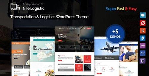 ThemeForest - Nile v1.0.0 - Transportation and Logistics WordPress Theme - 22577948