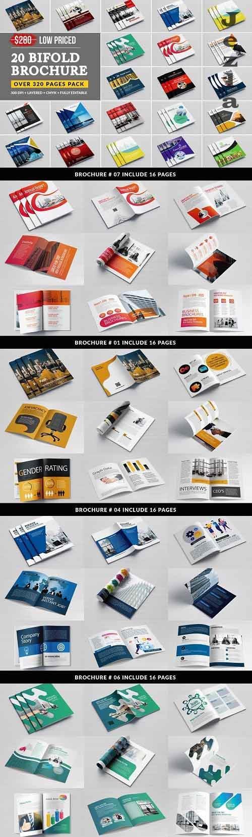 Business Bifold Bundle 20 Template 5207635