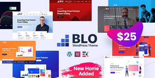 ThemeForest - BLO v2.4 - Corporate Business WordPress Theme - 24219257