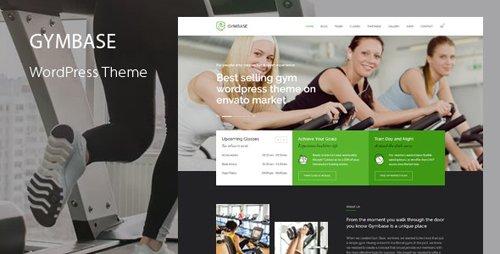 ThemeForest - GymBase v13.8 - Gym Fitness WordPress Theme - 2732248