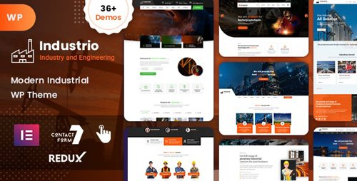 ThemeForest - Industrial v1.0 - Industry & Factory WordPress (Update: 14 September 20) - 23174417