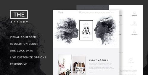 ThemeForest - The Agecy v1.7 - Creative One Page Agency Theme - 13373631