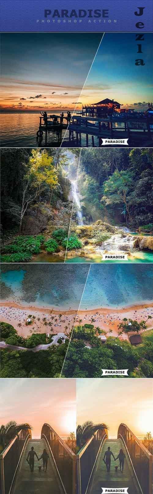Paradise Photoshop Action 27717748