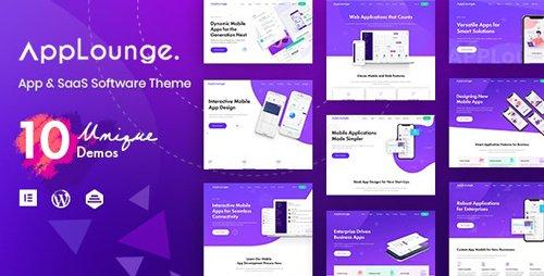ThemeForest - AppLounge v1.1.1 - Multipurpose SaaS WordPress Theme - 24264575