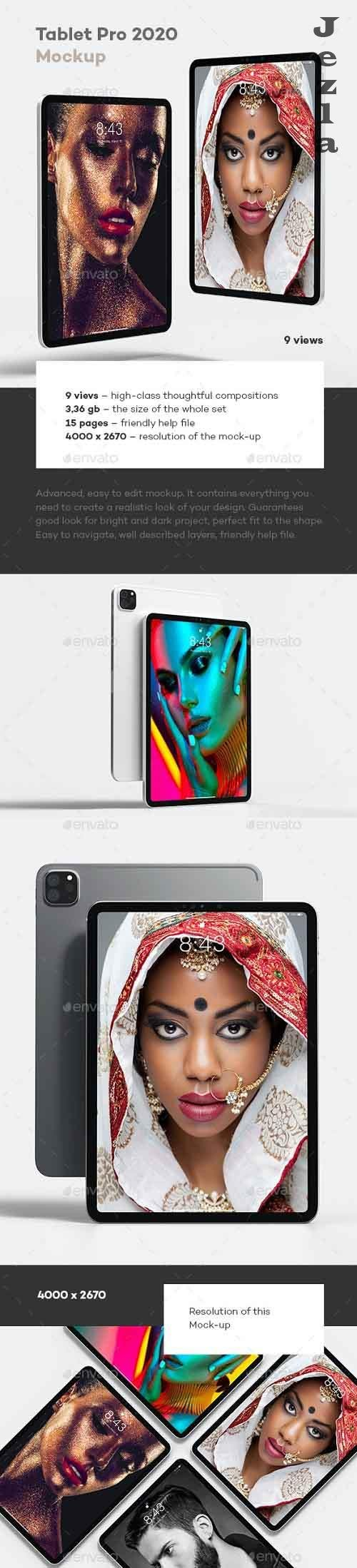 Tablet Pro 2020 Mock-up 28456538