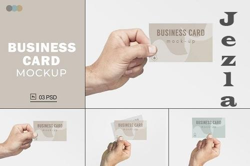 Business Card Mockups V.9