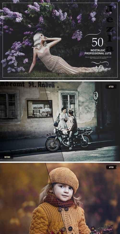 50 Nostalgic LUTs (Look Up Tables) - 5376085