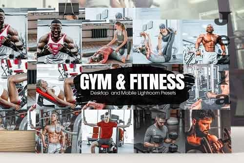 Gym & Fitness Lightroom Presets - 5184471