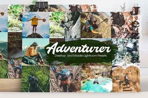 Adventurer Lightroom Presets - 5203393
