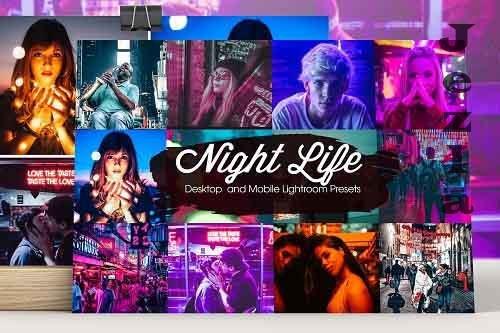 Night Life Lightroom Presets - 5207704