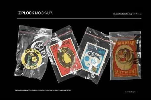 Zip Lock Mockups 5376409