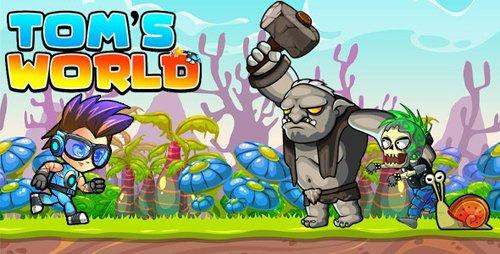 CodeCanyon - Super Jungle Adventure Tom World Full Unity Game v1.0 - 28472395