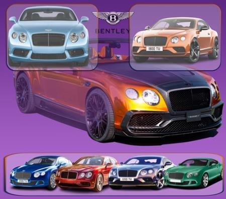 Png клипарты - Автомобили марки Bentley