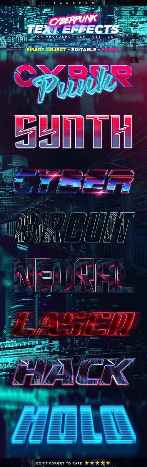 Cyberpunk Text Effects 21878876
