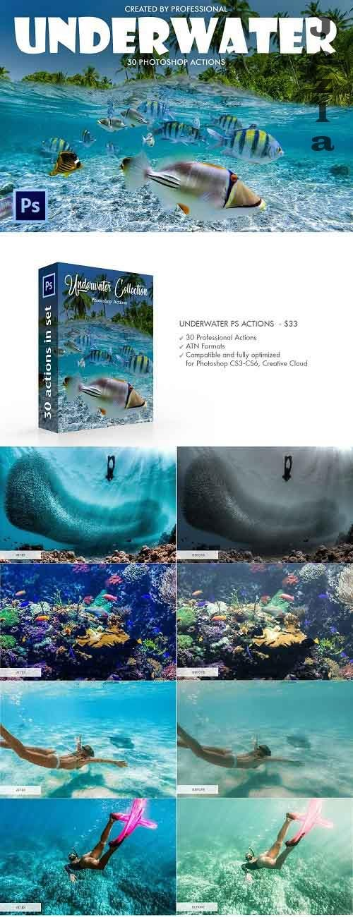 Underwater Photoshop Actions 4725922