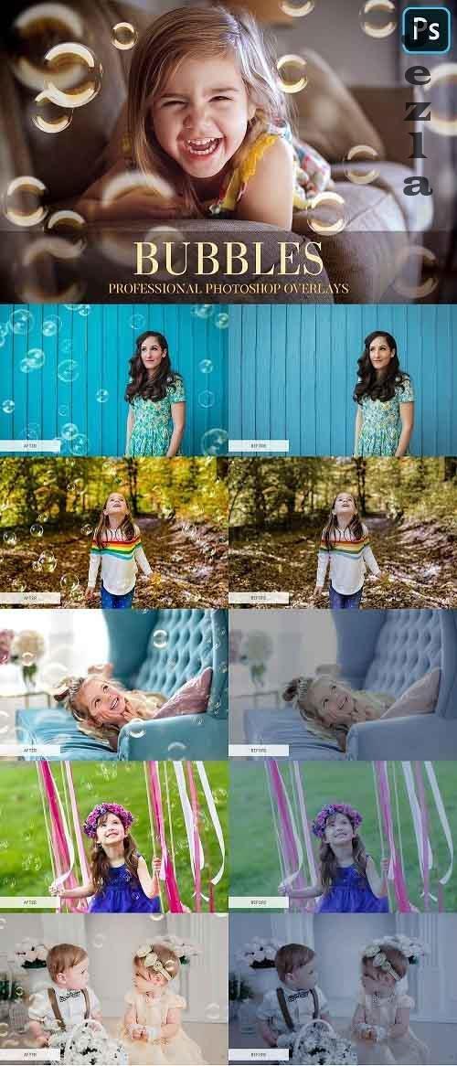 Bubbles Overlays Photoshop 4942673