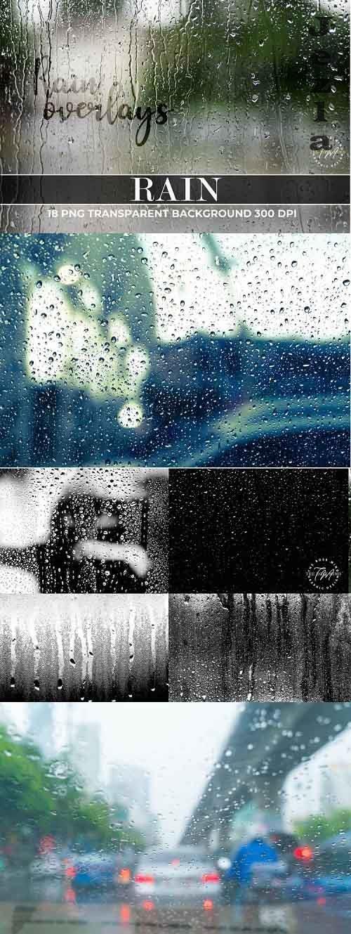 Rain Photo Light Overlays, Rain Overlay Lights, Rain Overlay - 904799
