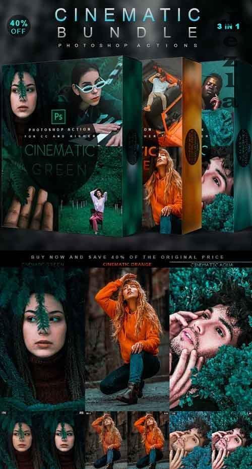 Cinematic Bundle - Photoshop Actions - 28469226