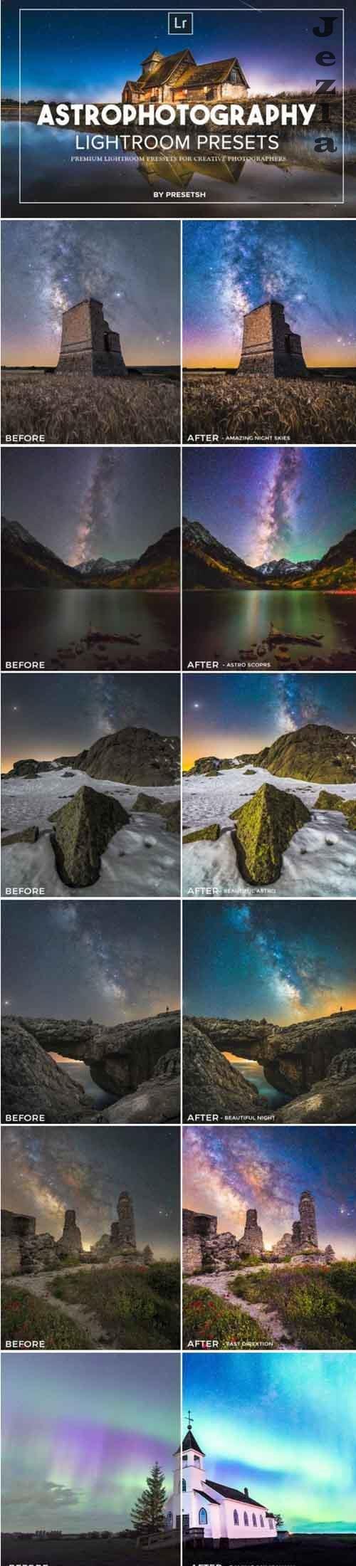 Astro Photography Lightroom Presets 4843397