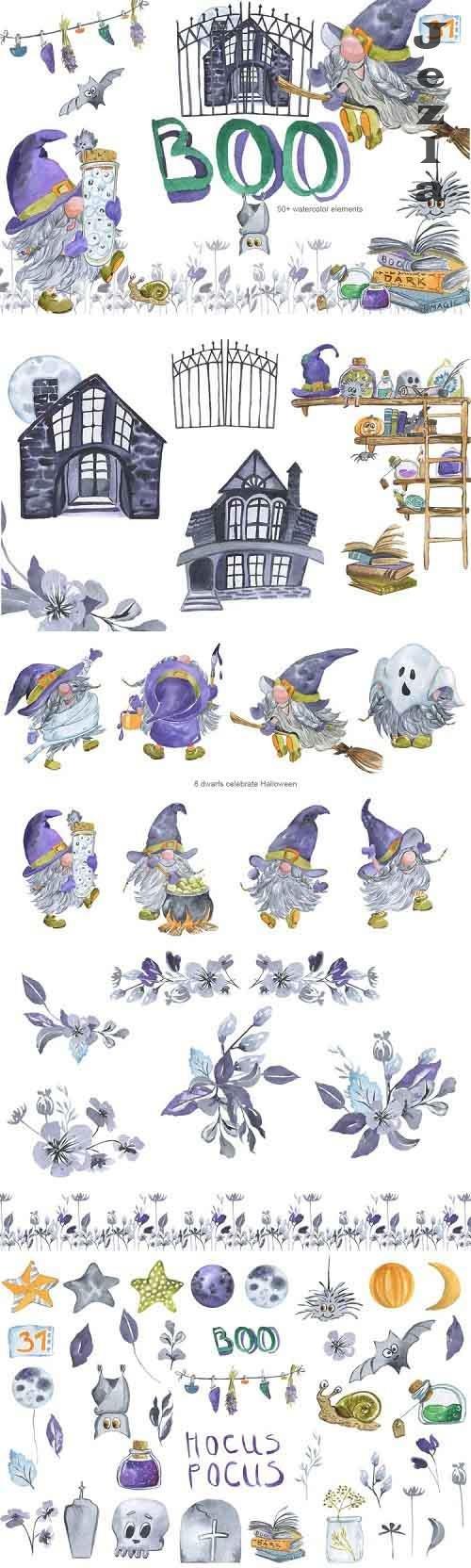BOO! Gnomes Celebrate Halloween - 901043