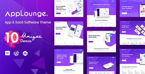 ThemeForest - AppLounge v1.1.2 - Multipurpose SaaS WordPress Theme - 24264575
