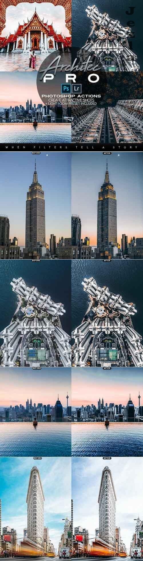 Architec PRO Photoshop Actions + LR Presets 2814464