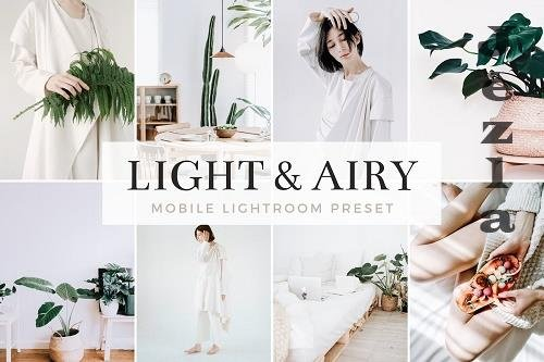 Light & Airy Mobile Lightroom Preset 5185387