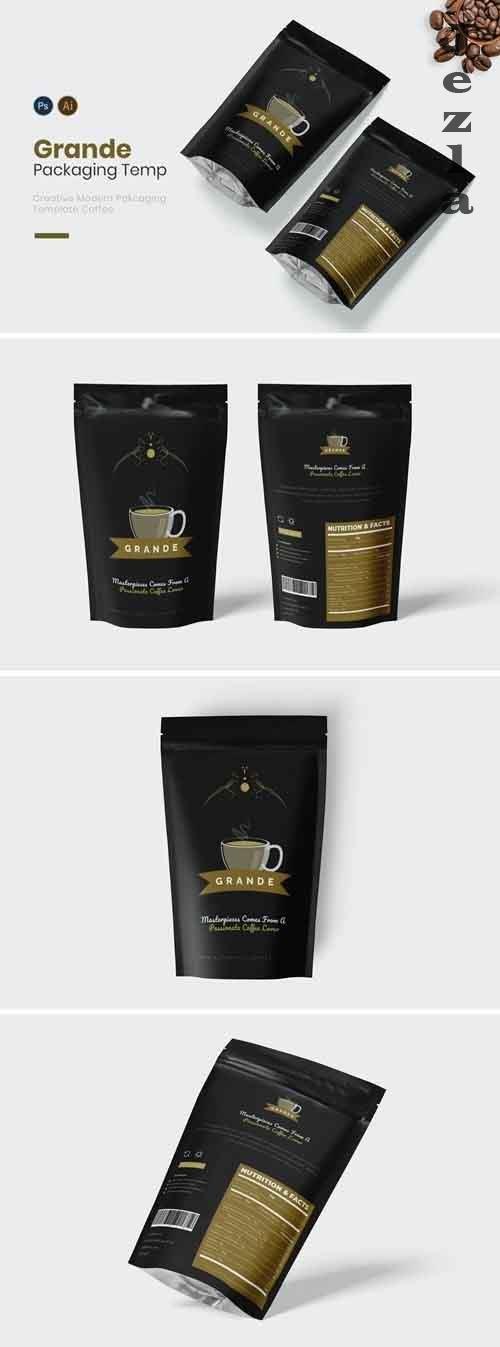 Coffee Grande Packaging