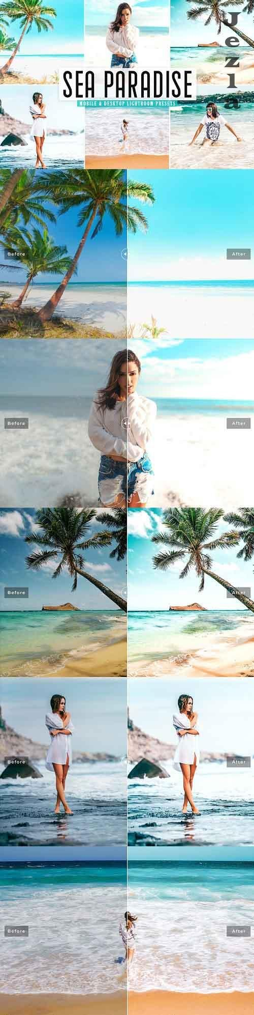 Sea Paradise Pro Lightroom Presets - 5437511 - Mobile & Desktop
