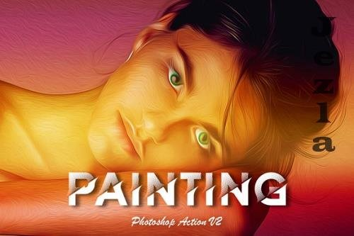 Painting Photoshop Action v3