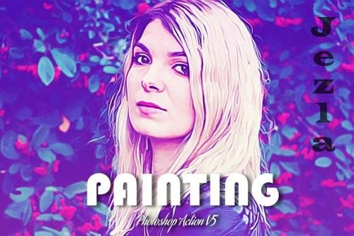 Painting Photoshop Action V5