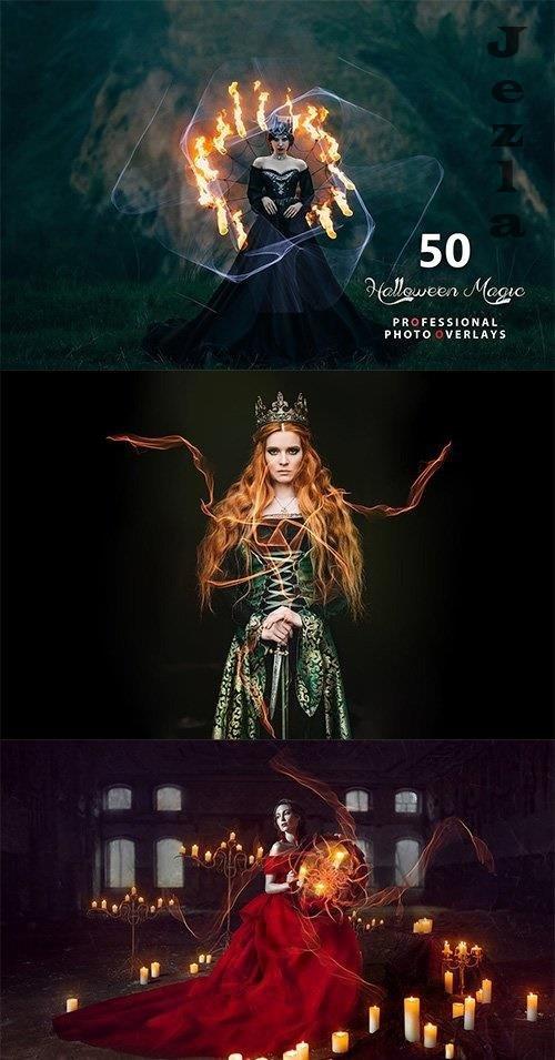 50 Halloween Magic Photo Overlays 5363607