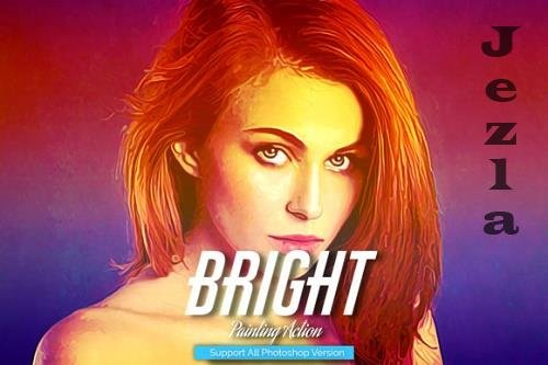 Bright Painting Photoshop Action