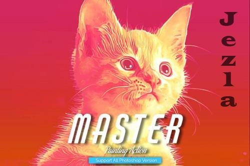Master Painting Photoshop Action