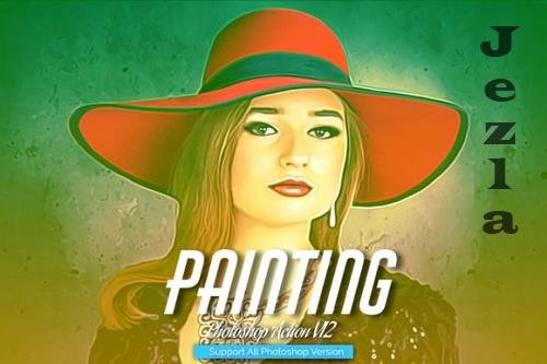 Painting Photoshop Action V12
