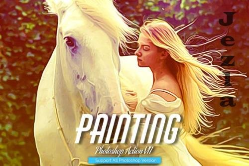Painting Photoshop Action V11