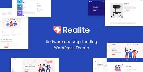 ThemeForest - Realite v1.0.0 - A WordPress Theme for Startups - 27651593